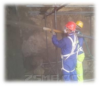 混凝土喷射泵应用